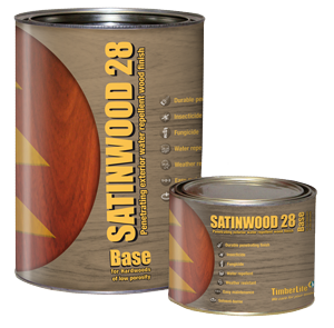 Penetrating exterior water repellent wood finish